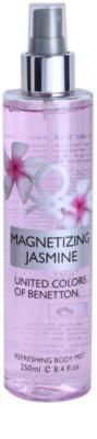 Benetton Magnetizing Jasmine tělový sprej pro ženy