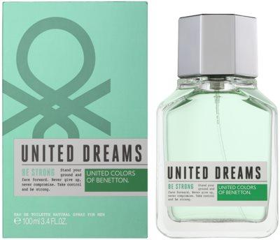 Benetton United Dreams Men Be Strong eau de toilette para hombre