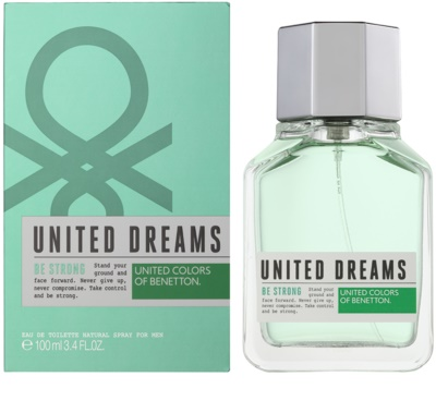 Benetton United Dreams Men Be Strong Eau de Toilette para homens