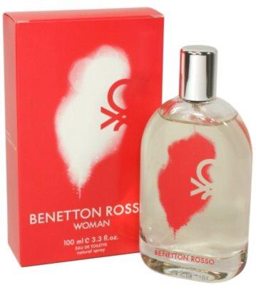 Benetton Rosso eau de toilette para mujer