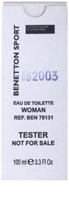 Benetton Sport Woman туалетна вода тестер для жінок 2