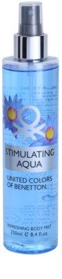 Benetton Stimulating Aqua спрей для тіла для жінок