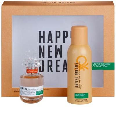 Benetton United Dream Stay Positive ajándékszettek