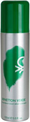 Benetton Verde deodorant Spray para homens