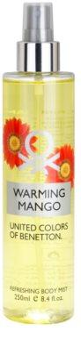 Benetton Warming Mango tělový sprej pro ženy