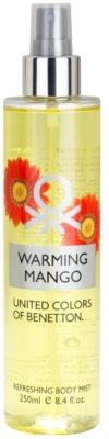 Benetton Warming Mango testápoló spray nőknek
