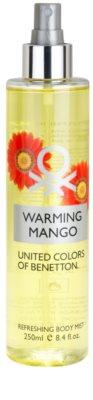Benetton Warming Mango tělový sprej pro ženy 1