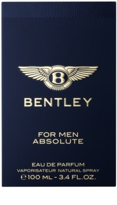 Bentley Bentley for Men Absolute eau de parfum férfiaknak 4