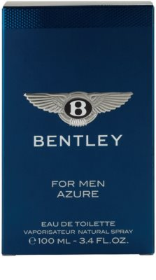 Bentley Bentley for Men Azure eau de toilette férfiaknak 4