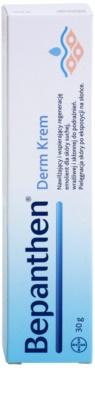 Bepanthen Derm nyugtató krém az égési és egyéb sérülések gyógyítására 2