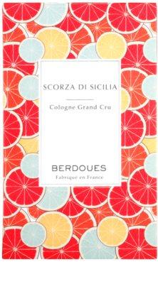 Berdoues Scorza di Sicilia Eau de Cologne unisex 4