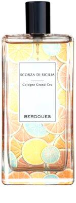 Berdoues Scorza di Sicilia kolonjska voda uniseks 2