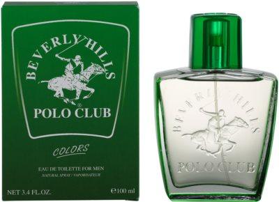 Beverly Hills Polo Club Green Colours eau de toilette para hombre