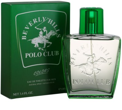 Beverly Hills Polo Club Green Colours Eau de Toilette para homens 1