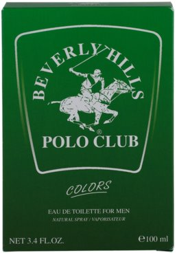 Beverly Hills Polo Club Green Colours toaletna voda za moške 4