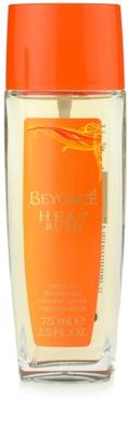 Beyonce Heat Rush deodorant s rozprašovačom pre ženy