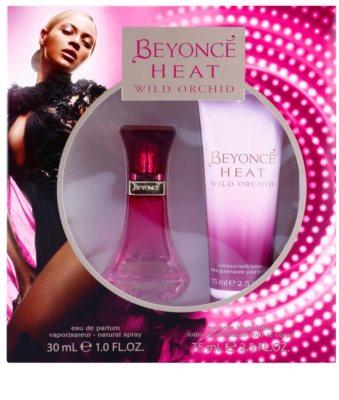 Beyonce Heat Wild Orchid lote de regalo