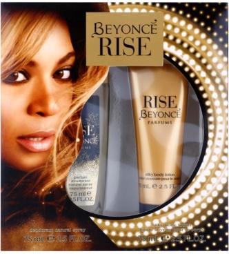 Beyonce Rise coffret presente