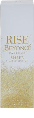 Beyonce Rise Sheer Limited Edition Eau De Parfum pentru femei 4