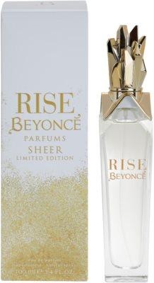 Beyonce Rise Sheer Limited Edition Eau de Parfum für Damen