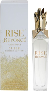 Beyonce Rise Sheer Limited Edition eau de parfum para mujer