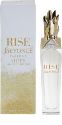 Beyonce Rise Sheer Limited Edition Eau De Parfum pentru femei