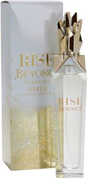 Beyonce Rise Sheer Limited Edition parfémovaná voda pro ženy 1