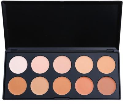 BHcosmetics 10 Color Palette für Korrektoren und Make up