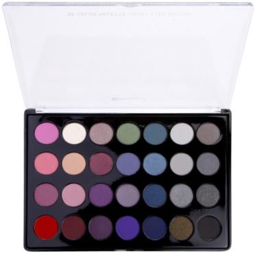BHcosmetics 28 Color Smoky Palette mit rauchigen Lidschatten
