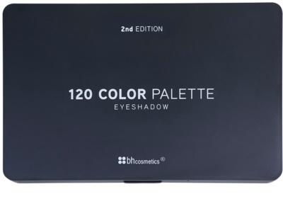 BHcosmetics 120 Color 2nd Edition paleta de sombras de ojos 1