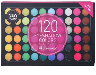 BHcosmetics 120 Color 2nd Edition paleta de sombras de ojos 2