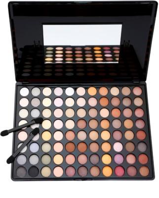 BHcosmetics 88 Color Neutral paleta farduri de ochi cu oglinda mica 1