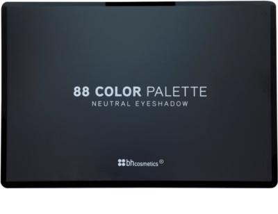 BHcosmetics 88 Color Neutral paleta farduri de ochi cu oglinda mica 2