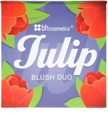 BHcosmetics Blush Duo подвійні рум'яна 1