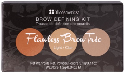 BHcosmetics Flawless набір для брів 3