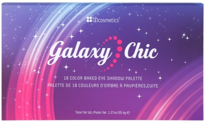 BHcosmetics Galaxy Chic paleta cieni do powiek 1