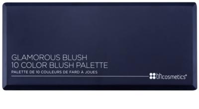 BHcosmetics Glamorous paleta fard de obraz 1