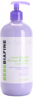 Biafine Bebe Kinder-Reinigungscreme Für Körper und Haar