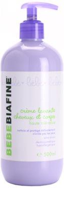 Biafine Bebe Tisztító krém gyerekeknek testre és hajra