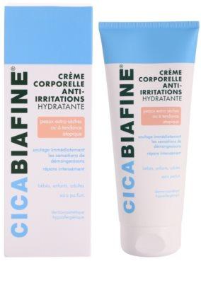Biafine Cica hydratačný telový krém pre veľmi suchú citlivú a atopickú pokožku 1