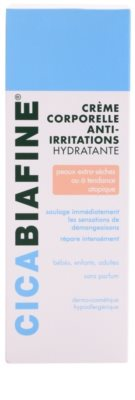Biafine Cica hydratačný telový krém pre veľmi suchú citlivú a atopickú pokožku 2
