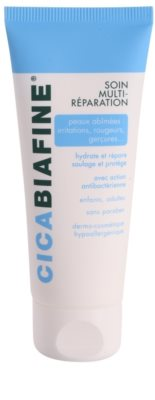 Biafine Cica crema antibacteriana reparadora para pieles irritadas