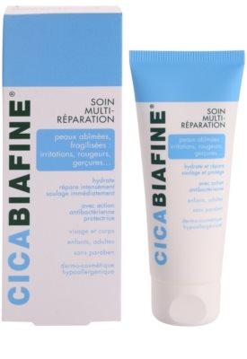 Biafine Cica crema antibacteriana reparadora para pieles irritadas 1