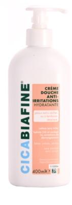 Biafine Cica creme de duche hidratante para pele sensível e atópica