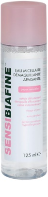 Biafine Sensi água micelar para limpeza suave para pele e olhos sensíveis