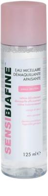 Biafine Sensi заспокоююча очищаюча міцелярна вода для чутливої шкіри навколо очей