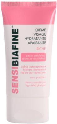 Biafine Sensi nyugtató és hidratáló krém az arcra