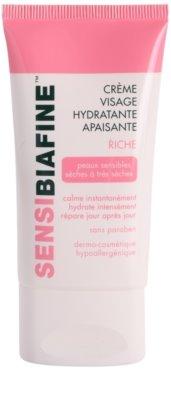 Biafine Sensi заспокоюючий та зволожуючий крем для обличчя