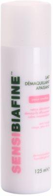 Biafine Sensi leite de limpeza calmante para pele e olhos sensíveis