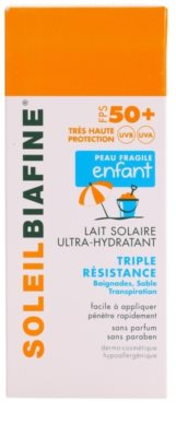 Biafine Soleil vlažilni losjon za sončenje za otroke SPF 50+ 2
